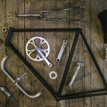 自転車 組み立て前