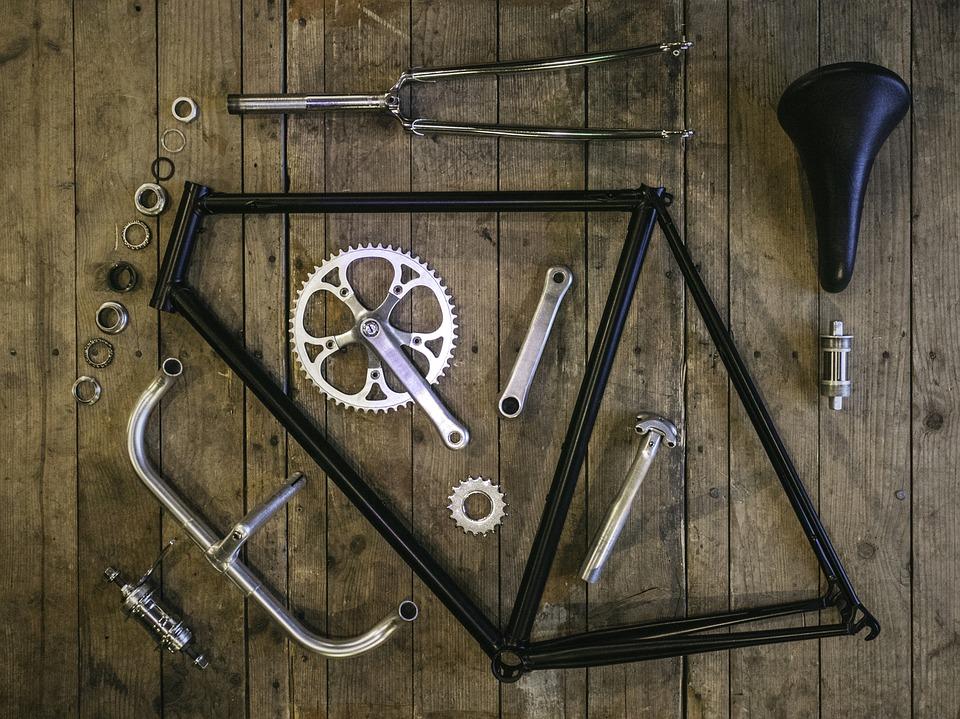 組立て 自転車