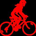 赤 自転車