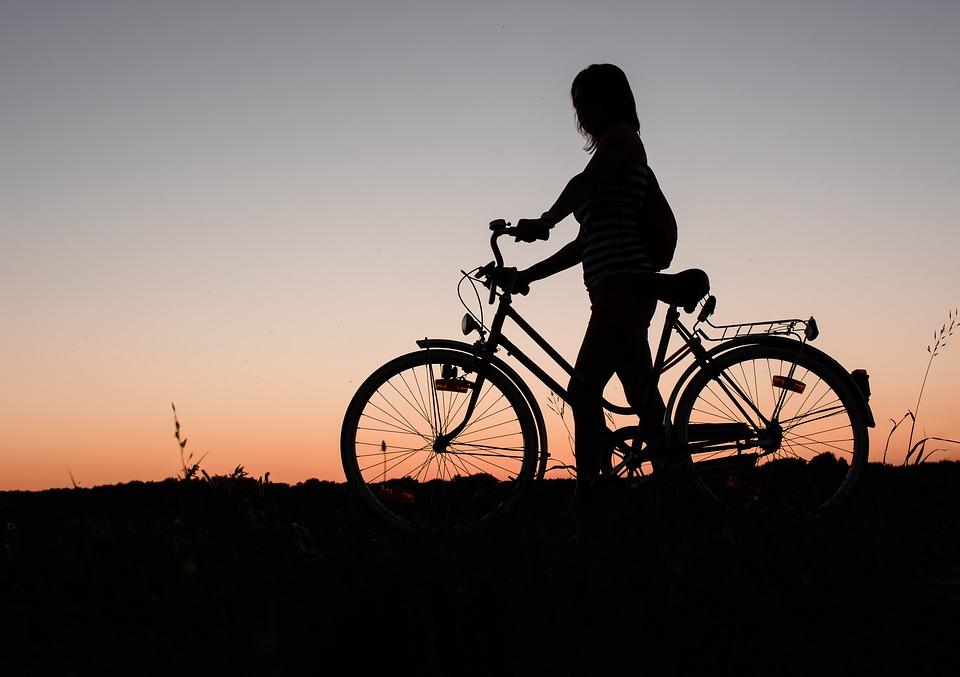 自転車 女の子