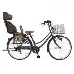 電動なし子供乗せ付き自転車