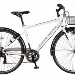 オフィスプレス カゴ付きクロスバイク